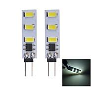 Luces de Doble Pin G4 1 W 6 SMD 5630 80~100 LM Blanco Cálido/Blanco Fresco DC 12 V
