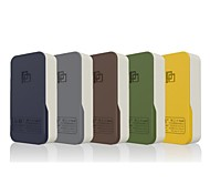 pinmei- pm323-5200mah llevada colorida banco portable slim iluminación para iPhone6 ​​/ 6plus / 5s / 5c / 5 / 4s / dispositivos móviles de Samsung