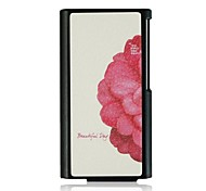 Half The Flowers Leather Vein Pattern Hard Case for iPod Nano7