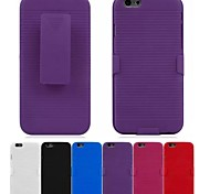 Belt Clip to Do Support detachable Full Body Cover for iPhone 6 (Assorted Colors)