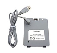 USB Rechargeable Battery with Charger Cable for Nintendo Wii Fit Balance Board