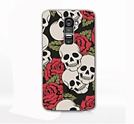 Skull Pattern Hard Case for LG G2