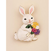 Fashion Cute Rabbit Gold Plated Brooch for Women In Jewelry
