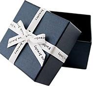 coway 7.2 * 7.2 * 4.6 de alta costura dupla caixa de esponja de presente caixa de jóias (cores sortidas)