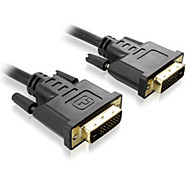 Sinseader 2M 6.56FT DVI(24+1) Male to DVI(24+1) Male Display Signal Cables Support 2560*1600