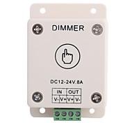 8a 1-Kanal-Touch-Panel-Controller-Dimmer für LED-Streifen Lampe (DC 12V-24V)