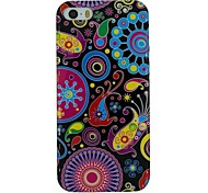 The Pop Art Pattern TPU Material Soft Back Cover Case for iPhone 5/5S