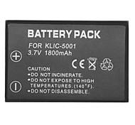KLIC-5001 del batttery mini-dv para Kodak P712 p850 p880 Z730 Z7590 Z760