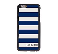 Personalized Case Stripe Design Metal Case for iPhone 6 Plus