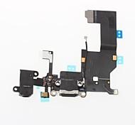 Dock-Anschluss Ladegerät Ladeanschluss und Mikrofon Kopfhörerbuchse Flexkabelband Reparaturteile für iphone 5