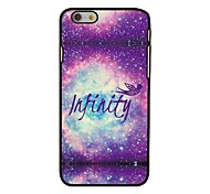 Infinity Space Style Plastic Hard Back Cover for iPhone 6