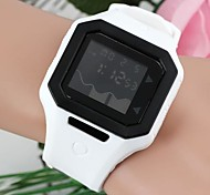 Women's Fashionable Square-Shaped Black Dial LED Plastic Watches(1Pc) Cool Watches Unique Watches
