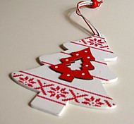 Christmas Hanging Decoratives Small Trees Shape 1 PC MDF Materiels
