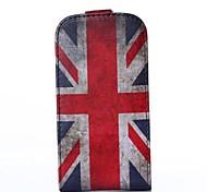 britische Flagge Muster PU-Leder Flip-Open Ganzkörper-Case für Samsung Galaxy Trend lite s7390 / s7392