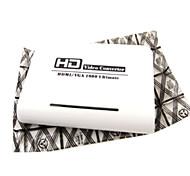 playvision hdv-331 femmina HDMI VGA + 3,5 millimetri convertitori video femminili supporto HDMI v1.3 1080p