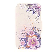 Kinston Ink Flower Diamond Paste Pattern PU Leather Full Body Case with Stand for Nokia Lumia 930
