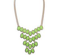 European Style Cellular Shape Collar Necklace(Random Color)