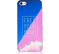 Free Your Mind Back Case for iPhone 5/5S