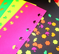 5 Color Stickers Paper for Punch(5 PCS)