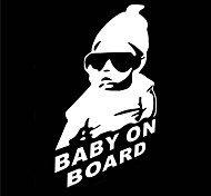 23 X 14 CM/ Cool Baby on Board Car Sticker Motorcycle Sticker