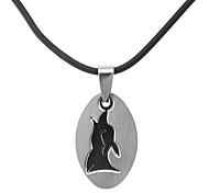 klassische Ellipse Tierform Männer Halskette (1 PC)