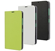 Solid Color Pattern PU Leather Full Body Case for Nokia Lumia 630/635