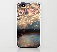 Lanterns Pattern Hard Case for iPhone 4/4S
