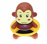 estilo lindo del mono del termómetro de agua de la bañera de baño del bebé