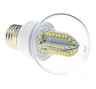 E26/E27 LED Globe Bulbs G60 84 SMD 2835 500 lm Warm White AC 85-265 V