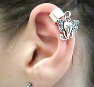 Frauen einfache Elefanten Ohrringe