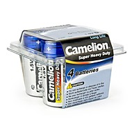 Camelion Super Heavy Duty D Size Battery in Plastic Box of 4 PCS