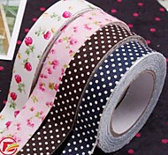 Colorful Crafts Cotton Cloth Tape(Random Color)