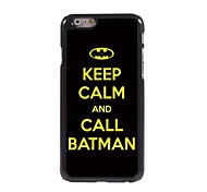 Call Batman Design Aluminum Hard Case for iPhone 6