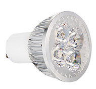 4W GU10 LED Spotlight 4 High Power LED 360 lm Warm White Dimmable AC 220-240 V