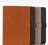 loca serie de líneas de caballos de todo el cuerpo de la PU de la carpeta del cuero con tapa abatible soporte para aire iPad 2 (colores