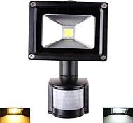 10 W 1 High Power LED 1000 LM Warm White/Cool White Sensor Flood Lights AC 85-265 V