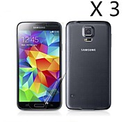 (3 pcs)High Definition Screen Protector for Samsung Galaxy S5 I9600