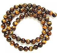 (1Pc) Round Tiger's Eye Beads Yellow