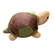 Dogs Toys Chew Toy / Squeaking Toy Durable Textile Green / Brown