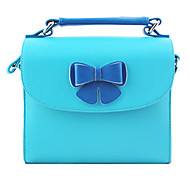 Pu Leather Camera Bag with Butterfly Decoration for Fujifilm Mini7S/8/25/90