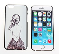 Girl Design Metal Hard Case for iPhone 6