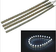 carking ™ PVC-24cm flexible wasserdichte LED-Lichtleiste für Autos / Motorräder-4pcs