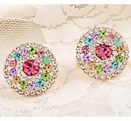 Love Is Your Fashion Cartoon Rabbit Rabbit Diamond Stud Earrings