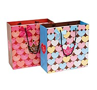 Lureme Romance Full of Hearts Pattern Dot Gift Bag(1 Pc)