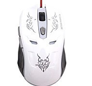 Jite jt-07 ratón para juegos con cable 800/1000/2000 dpi 6 botones usb óptico