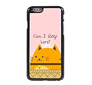 Can I Sleep Design Aluminum Hard Case for iPhone 6