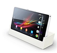 White DK26 Desktop Charging Dock Stand Charger for Sony Xperia Z / LT36h
