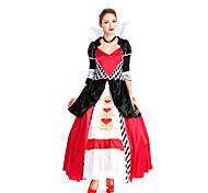 Disfraz de Halloween Reina de Corazones (2 Piezas)