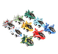 9PCS Kids Fun Mini Plane X-Street Speed Pull Back Car Toy