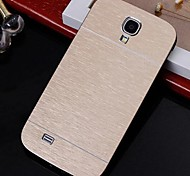 2 in 1 Metal Brushed Hard Case for Samsung Galaxy S4 I9500 (Assorted Colors)